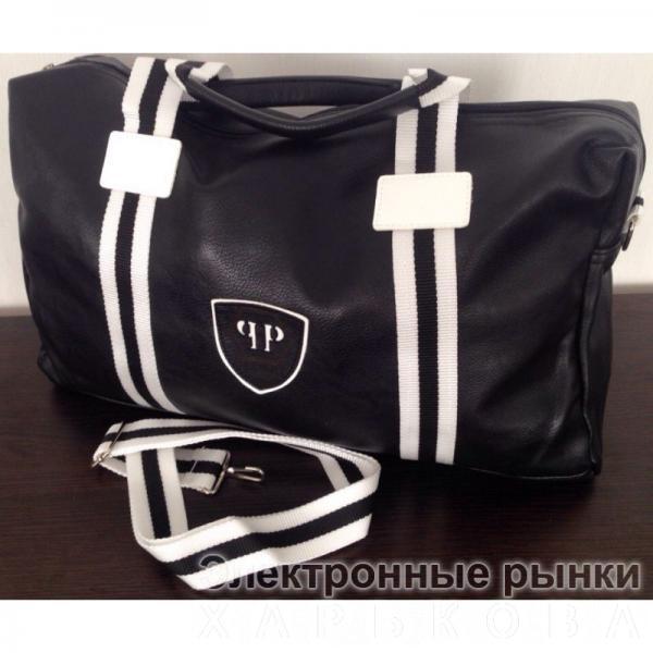 806b3dda71f3 0001 СУМКА Philipp Plein ЧЕРНАЯ - Дорожные сумки и чемоданы на рынке  Барабашова ...