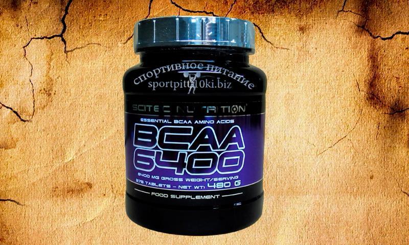 BCAA 6400 375 tabl.