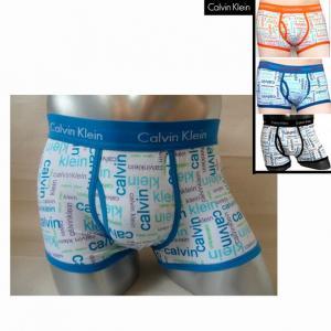 Фото Трусы Calvin Klein 365 printed Трусы Calvin Klein боксёры 365 printed синяя резинка с синими буквами