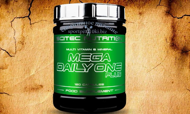 Mega Daily One Plus  120 caps.