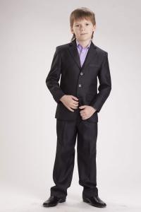 Фото Школьная форма, Школьная одежда для мальчиков, Младшая школьная группа Костюм для мальчиков Модель 9М50 Бизнес
