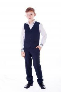 Фото Школьная форма, Школьная одежда для мальчиков, Младшая школьная группа Жилет для мальчиков