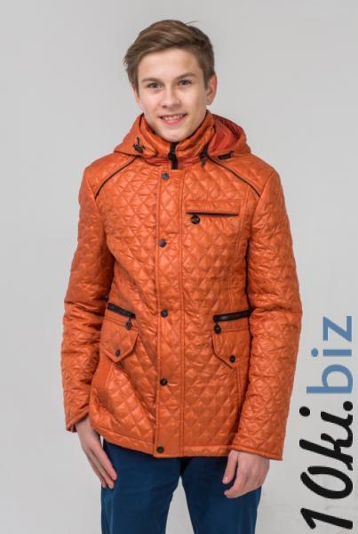 """Куртка для мальчика """"Ромб"""" 7416 Куртки зимние, пуховики для мальчиков в России"""