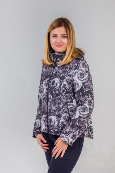 """Куртка для девочки """"Дона"""" Модель 4215"""