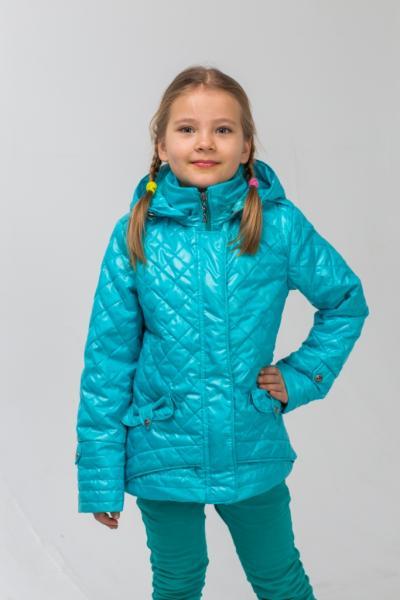 """Куртка для девочки """"Бабочки"""" Модель 5916"""