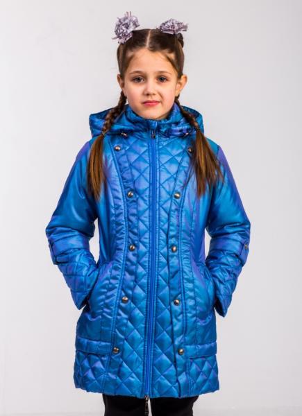 """Пальто для девочки Модель 5115 """"Амадео"""""""