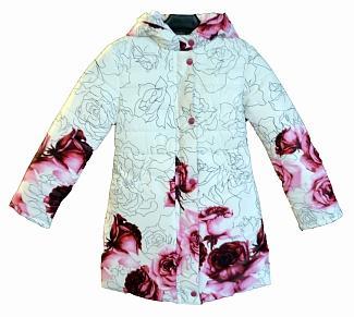 """Пальто для девочки Модель """"Мери"""" 05Д-4/15В"""