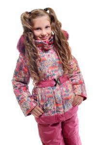 Фото Одежда зима 2016, Комплекты для девочек и мальчиков, Для девочек Зимний комплект для девочки Модель Кд-07/15