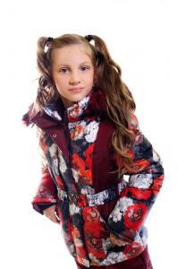 Фото Одежда зима 2016, Комплекты для девочек и мальчиков, Для девочек Зимний комплект для девочки Модель КД-01/16