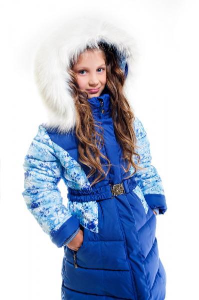 """Пальто для девочки Модель 5615 """"Морозко"""""""