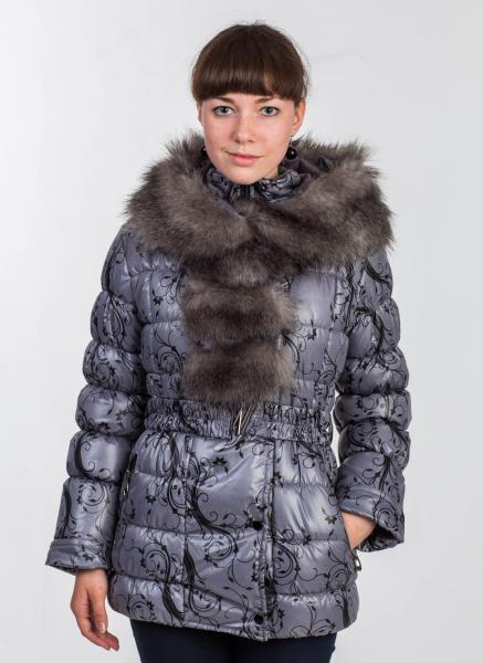"Куртка для девочки Модель 07Д-1/14 ""Флора"""