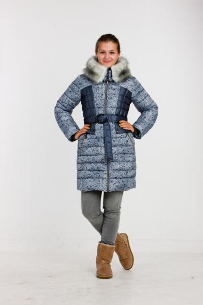 """Пальто для девочки Модель 2913 """"Венеция"""""""