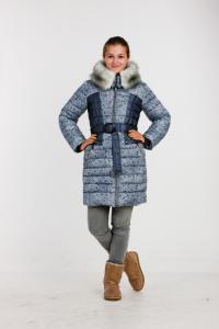 Фото Одежда зима 2016, Одежда для девочек Пальто для девочки Модель 2913