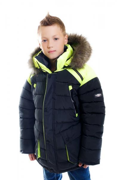 """Куртка для мальчика Модель 6615 """"Неон"""""""