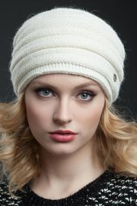 Фото женская шапка, Premium Шапка Саломея