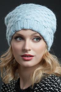 Фото женская шапка, Premium Шапка Френсис