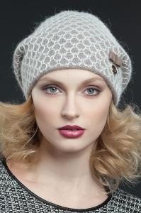 Фото женская шапка, Premium Шапка Мимоза