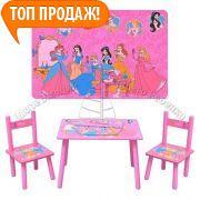 Фото Детская мебель Столик со стульчиками М 1109 Принцессы
