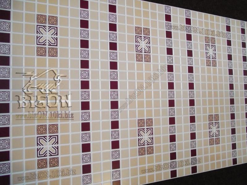 Мозаика «ОРНАМЕНТ БОРДОВЫЙ»   Листовые панели ПВХ