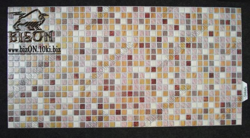 Фото Листовые панели ПВХ Мозаика «ПЕСОК САВОЯРСКИЙ»   Листовые панели ПВХ