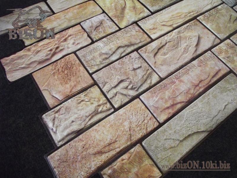Камень «ПИЛЕНЫЙ НАСТОЯЩИЙ ЖЕЛТЫЙ»   Листовые панели ПВХ