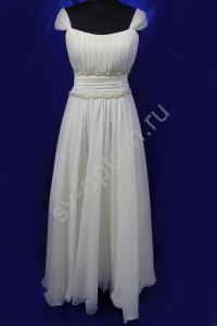 Фото СВАДЕБНЫЕ ПЛАТЬЯ, Имперский (Греческий) стиль свадебных платьев СВАДЕБНОЕ ПЛАТЬЕ АЙВОРИ