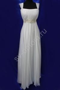 Фото СВАДЕБНЫЕ ПЛАТЬЯ, Имперский (Греческий) стиль свадебных платьев СВАДЕБНОЕ ПЛАТЬЕ АЙВОРИ.(133)