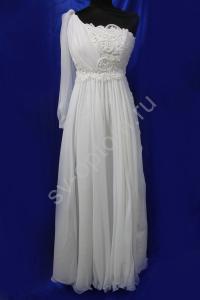 Фото СВАДЕБНЫЕ ПЛАТЬЯ, Имперский (Греческий) стиль свадебных платьев СВАДЕБНОЕ ПЛАТЬЕ (1 рукав)