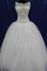 Фото СВАДЕБНЫЕ ПЛАТЬЯ, Бальный стиль свадебных платьев СВАДЕБНОЕ ПЛАТЬЕ БЕЛОЕ