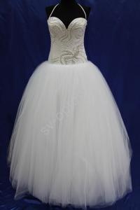 Фото СВАДЕБНЫЕ ПЛАТЬЯ, Бальный стиль свадебных платьев СВАДЕБНОЕ ПЛАТЬЕ (бисер)