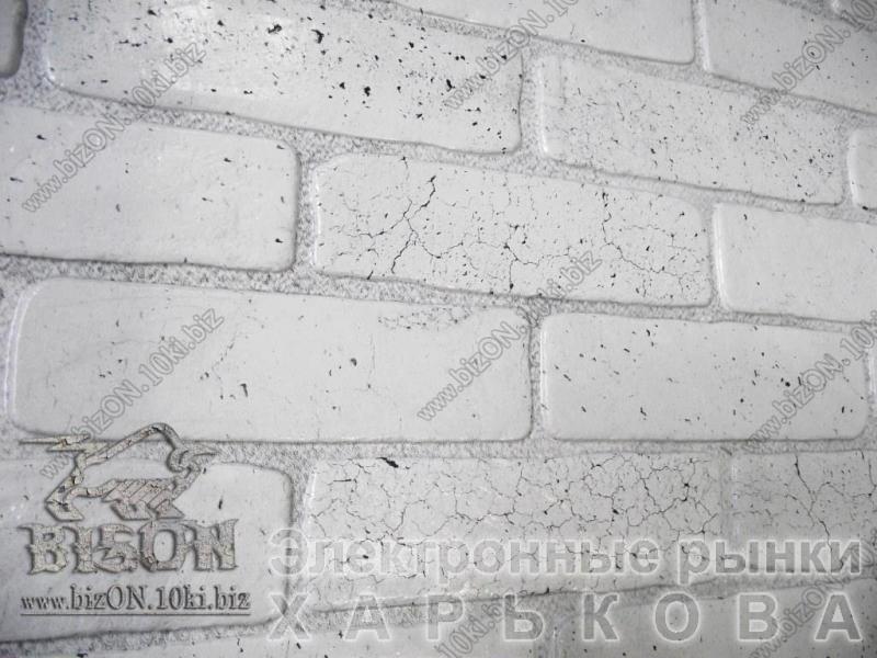 Кирпич «СТАРЫЙ СЕРЫЙ»   Листовые панели ПВХ - Декор для стен на рынке Барабашова