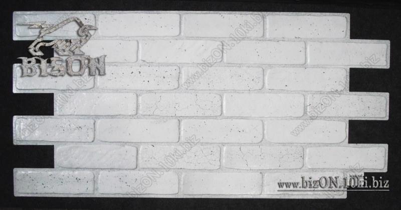 Фото Листовые панели ПВХ Кирпич «СТАРЫЙ СЕРЫЙ»   Листовые панели ПВХ