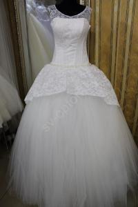 Фото СВАДЕБНЫЕ ПЛАТЬЯ, Бальный стиль свадебных платьев СВАДЕБНОЕ ПЛАТЬЕ АЙВОРИ