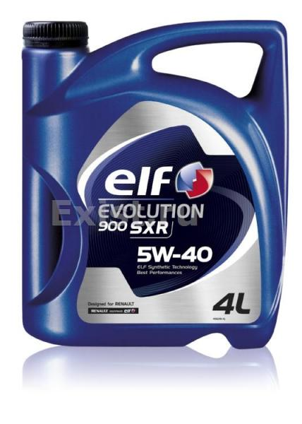 ELF 5W40 EVOLUTION SXR 1л