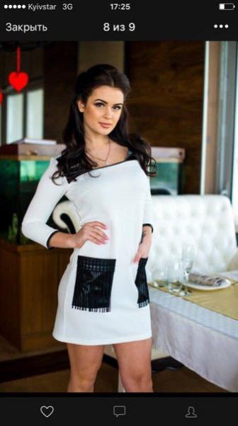 Платье женское карман бахрома в расцветках 8784