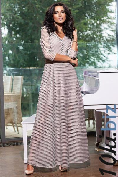 Платье женское длинное нарядное 6855 - Вечерние платья в магазине Одессы