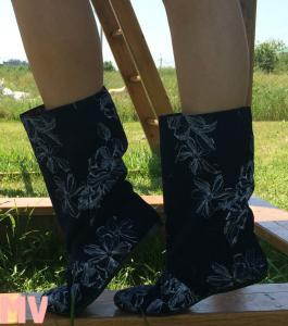 Фото Обувь Украина - производство 3-7 дней, Сапожки, ботиночки тканевые САПОЖКИ ТКАНЕВЫЕ АРТ С1-195