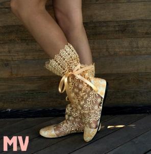 Фото Обувь Украина - производство 3-7 дней, Сапожки, ботиночки тканевые САПОЖКИ ГИПЮР АРТ С1-200