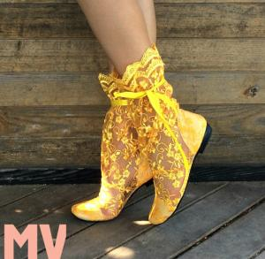 Фото Обувь Украина - производство 3-7 дней, Сапожки, ботиночки тканевые САПОЖКИ ГИПЮР АРТ С1-201