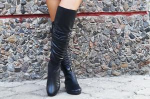 Фото Обувь Украина - производство 3-7 дней, ›Сапоги осень-зима 2016 производство 3-7 дней САПОЖКИ ЗИМА АРТ С1-511