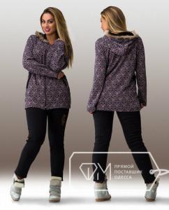 Фото Одежда для пышных леди, Костюмы женские КОСТЮМ ЖЕНСКИЙ БАТАЛ АРТ 20629-29