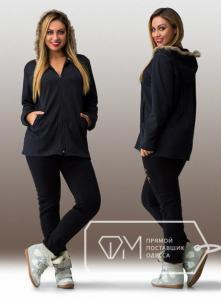 Фото Одежда для пышных леди, Костюмы женские КОСТЮМ ЖЕНСКИЙ БАТАЛ АРТ 20630-29