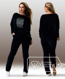 Фото Одежда для пышных леди, Костюмы женские КОСТЮМ ЖЕНСКИЙ БАТАЛ АРТ 20632-29