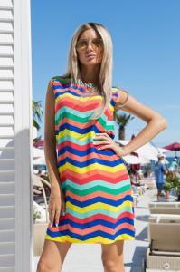 Фото Платья, Летние платья 2015 Оригинальное летнее платье-футляр