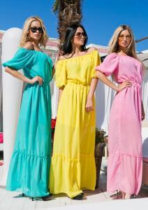 Фото Платья, Летние платья 2015 Яркое летнее платье