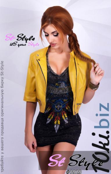 Куртка кожзам в расцветках - Куртки кожаные женские в магазине Одессы