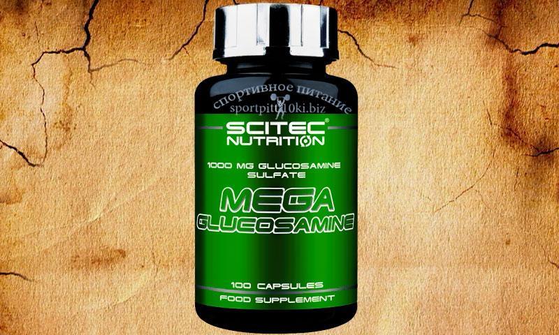 Mega Glucosamine 100 caps.