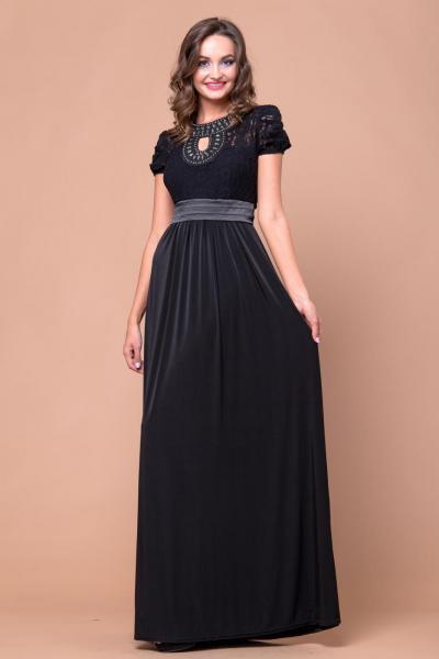 Длинное нарядное платье 3208