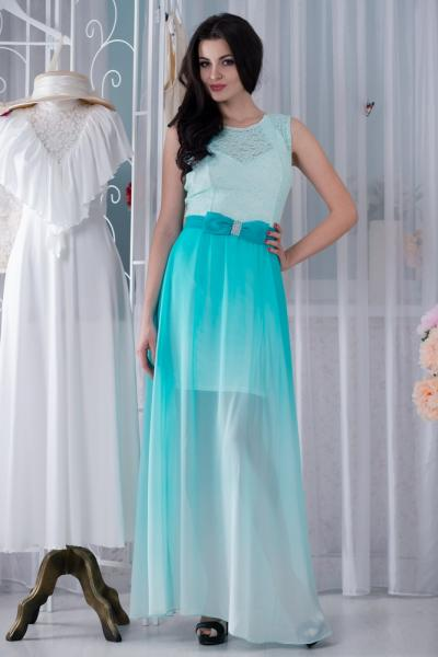 Платье длинное 5030