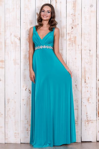 Длинное нарядное платье 5152